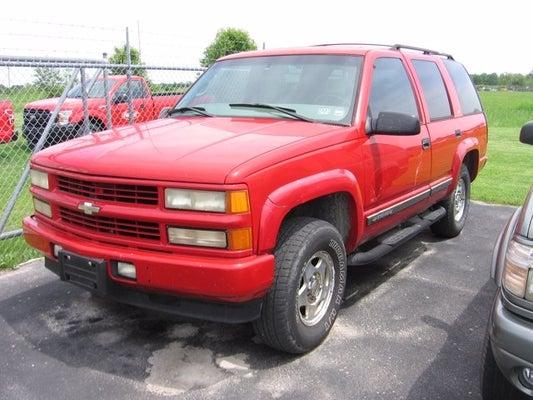2000 Chevy Tahoe 4x4 In Bolivar Mo Kansas City Chevy Tahoe 4x4 Bill Grant Ford